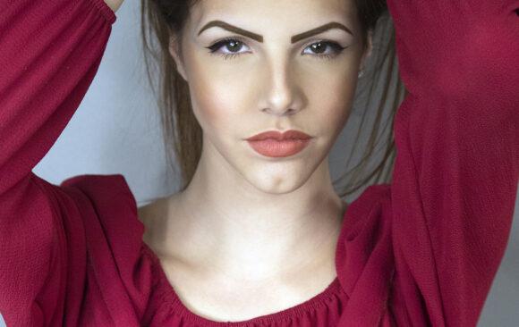 Nadia Carrieri, model.